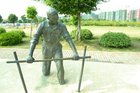 五缘湾的雕塑
