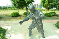 厦门五缘湾的雕塑