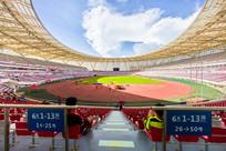 阳光下的惠州奥林匹克体育场