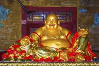 佛光寺大肚弥勒佛雕像