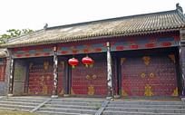 古代衙门大门景观