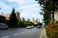 贵阳北京西路车流