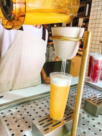 奶昔橙汁制作