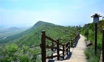 山顶公园的步道