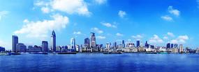 上海外滩浦西全景摄影