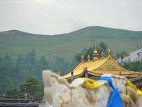西宁寺庙一角