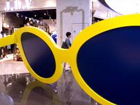 眼镜框架装饰
