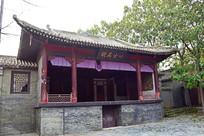 豫西老戏台建筑摄影