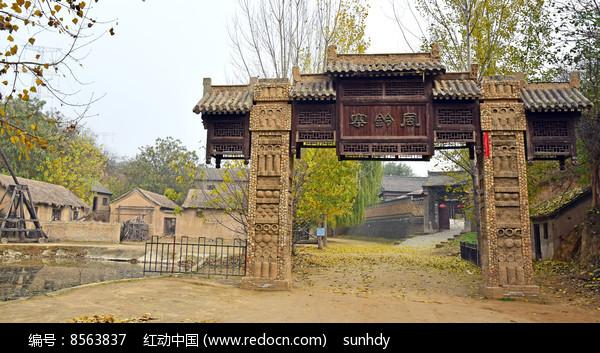 风铃寨寨门老建筑景观图片