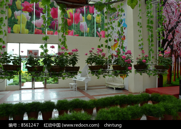 广州百万葵园室内景观图片