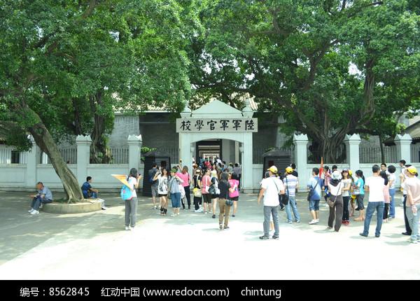 广州黄埔军校大门图片