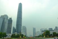 广州珠江新城建筑群