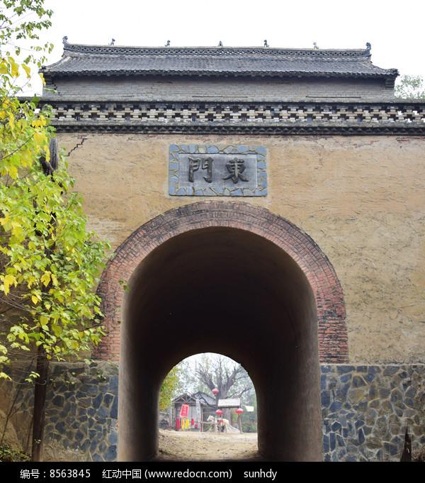 土寨门的拱顶门洞图片