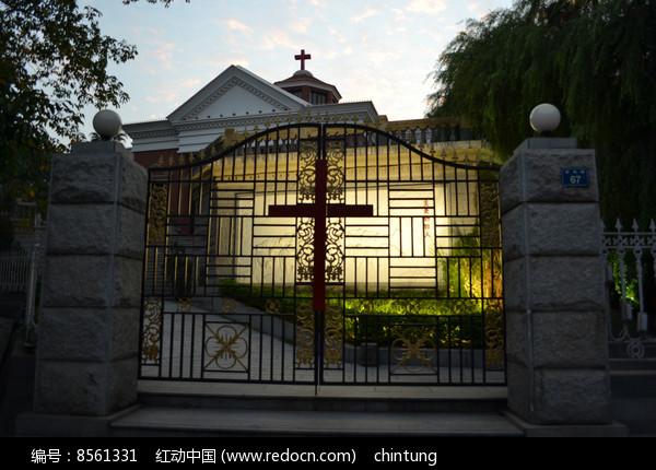 厦门鼓浪屿的教堂图片