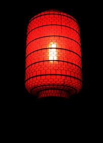 大红色灯笼