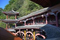 供佛古建筑摄影