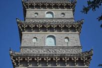 青砖古塔建筑摄影