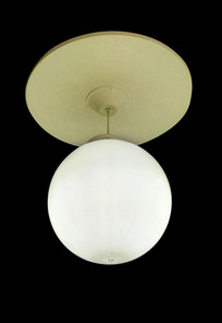 时尚白色球形吊灯