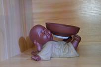 杂耍陶瓷茶宠