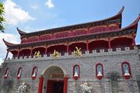 佛教城古建筑楼阁