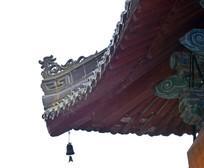 古建筑飞檐和风铃