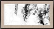 黑白水墨装饰画