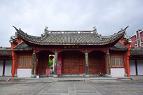孔庙的大门楼古建筑