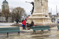 魁北克休闲广场纪念碑