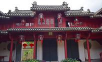 气派的中式古典门楼建筑