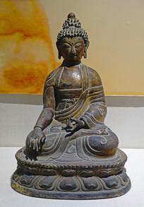 释迦摩尼铜造像