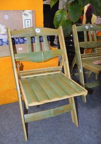 手工竹制椅子