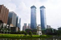 贵阳南明区的高楼大厦