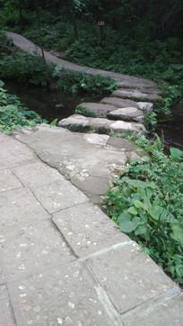 河边的弯曲小道
