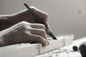 木工工匠雕刻