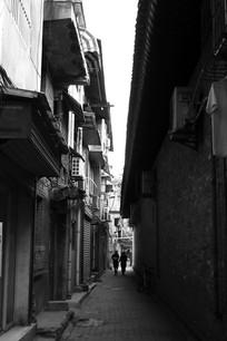 巷子中的生活