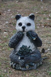 大熊猫雕像
