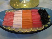 海鲜鱼肉拼盘