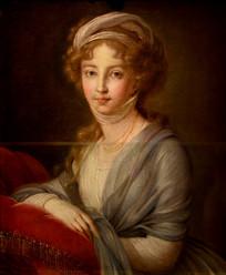 油画-大公夫人伊丽莎白