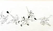 中国武术壁画