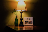 餐厅墙绘灯光素材