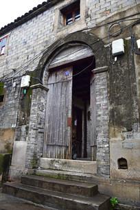 拱券大门建筑图片