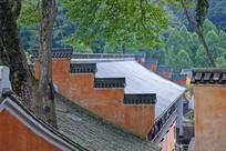 徽派建筑中的马头墙