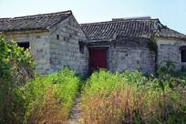 农村瓦房老建筑