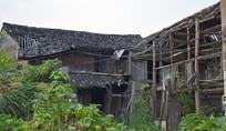 破旧的农村房屋
