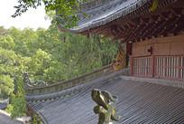 寺庙瓦房建筑