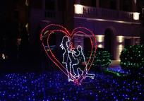 心形LED造型灯