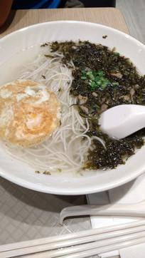中式美食鸡蛋面