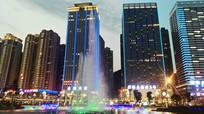 贵阳国际金融街夜景