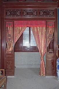 古建筑的室内门设计