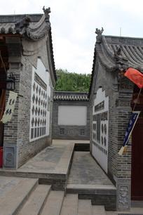 古建筑走廊